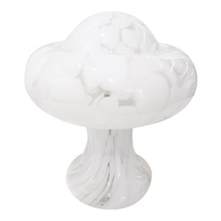 "Mid-Century ""Mushroom"" Murano Table Lamp For Sale"