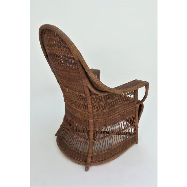 """""""Guests Welcome"""" Chair by Dryad & Co. For Sale In New York - Image 6 of 8"""