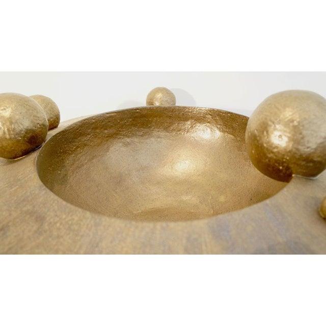 Bronze Orb Vessel - Image 4 of 8
