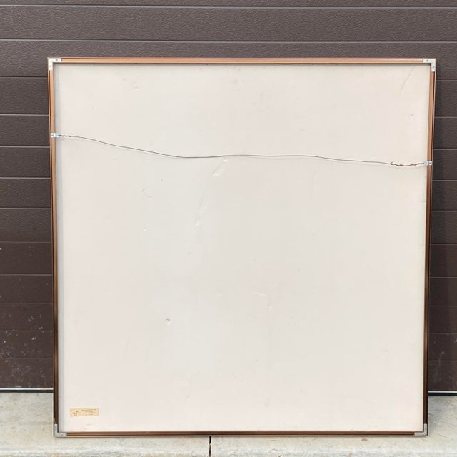 """Michael Heizer """"Geometric Extraction"""" 1984 Gallery Poster For Sale In Philadelphia - Image 6 of 10"""