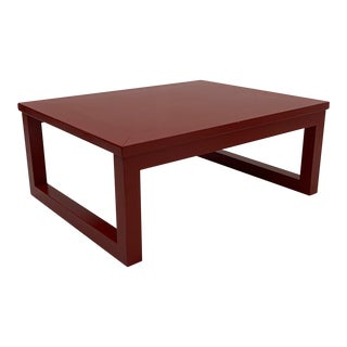 Karl Springer Mid-Century Modern Coffee Table For Sale