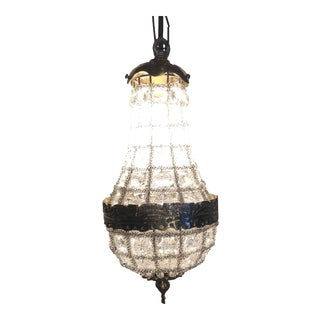 Empire Style Miniature Chandelier For Sale