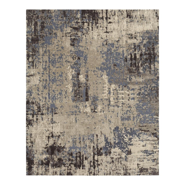 Earth Elements - Customizable Gold Dust Rug (4x6) For Sale
