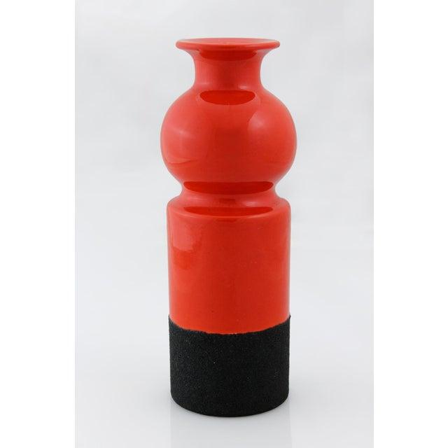 Italian Ettore Sottsass for Bitossi Ceramic Vase For Sale - Image 3 of 4