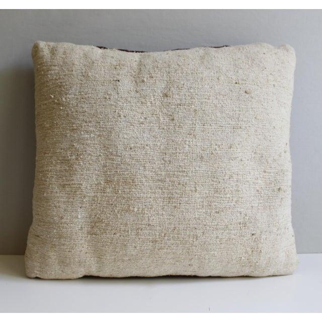 Vintage Turkish Kilim Pillow - Image 5 of 5