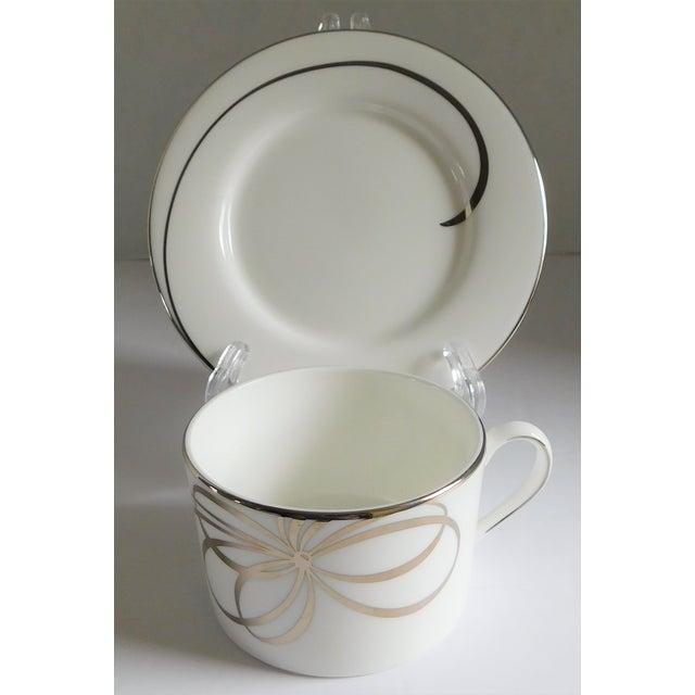 Contemporary 40 Piece Set - Kate Spade Lenox Belle Boulevard Porcelain Dinnerware -Service for 8 For Sale - Image 3 of 13