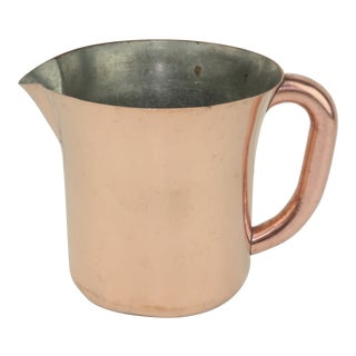 Russel Wright Art Deco Copper Pitcher for Chase, C.1930 For Sale
