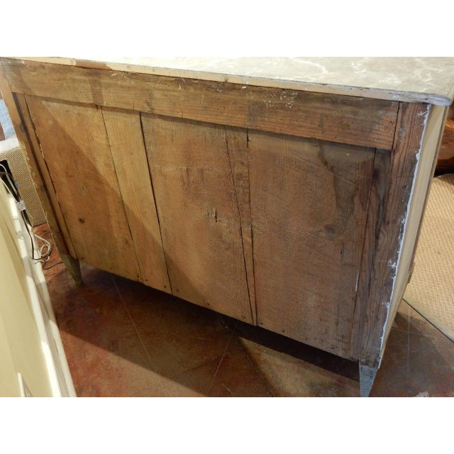 Early 19th Century Italian Painted Buffet For Sale - Image 9 of 10