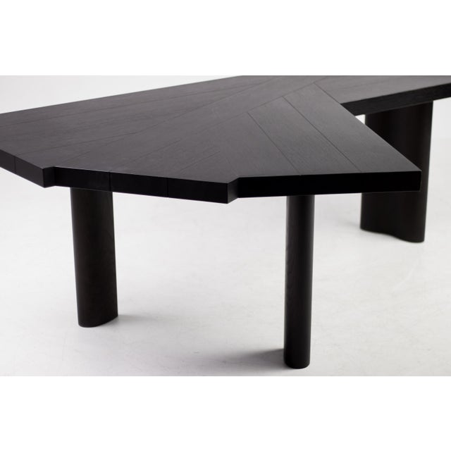 Oak Oak Table by Charlotte Perriand for Cassina For Sale - Image 7 of 12