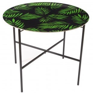 """Palm Beach Green"" Tray Foldable Table Stand"