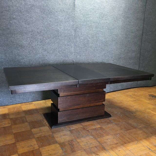 Tanager Expandable Dining Table in Espresso - Image 2 of 8
