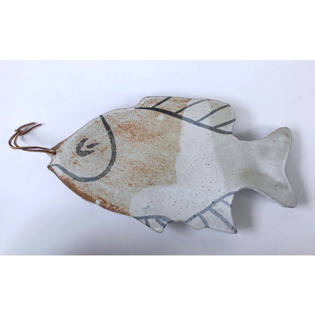 Vintage Pottery Fish Platter - Image 6 of 6