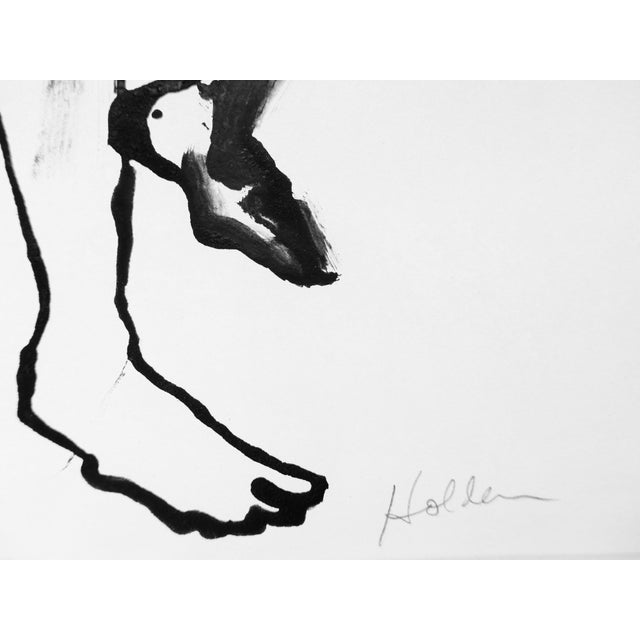 Martha Holden Nude Ink Drawing - Image 5 of 5