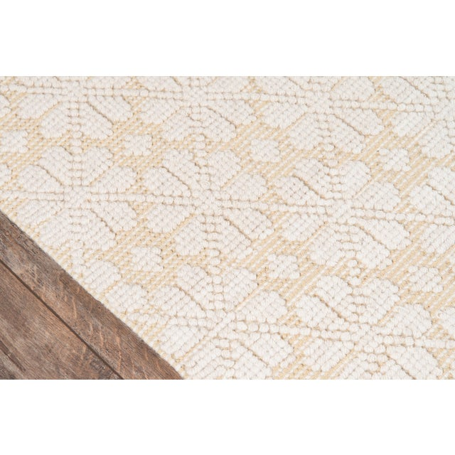 """Contemporary Madcap Cottage Lisbon Seville Yellow Area Rug 2'3"""" X 8' Runner For Sale - Image 3 of 8"""