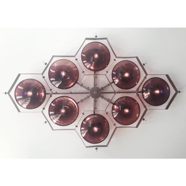 Not Yet Made - Made To Order Beehive Flush Mount by Fabio Ltd For Sale - Image 5 of 10