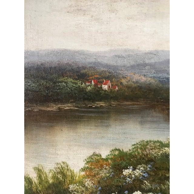 6e4f389cf Impressionism Humphrey Original Oil Landscape Paintings - A Pair For Sale -  Image 3 of 6