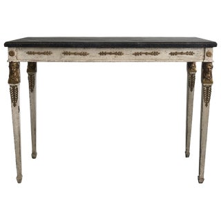 19th Century Swedish Gustavian Console Table For Sale