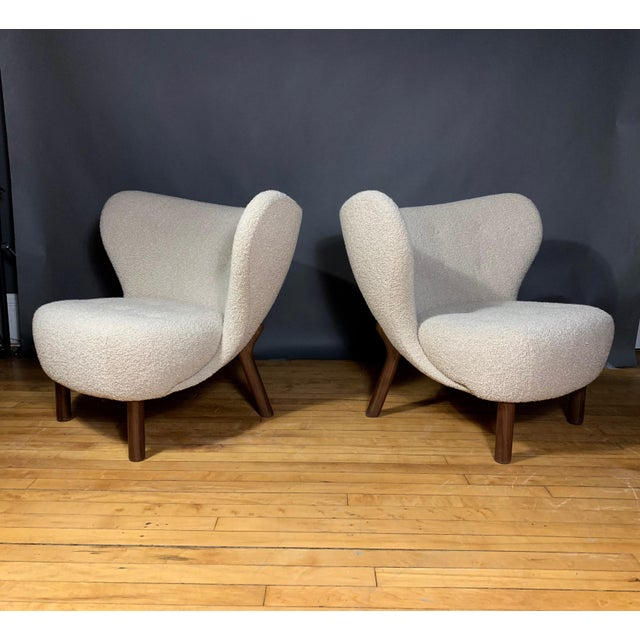 "Viggo Boesen, ""Little Petra"" Lounge Chair, Designed 1938 For Sale - Image 11 of 11"
