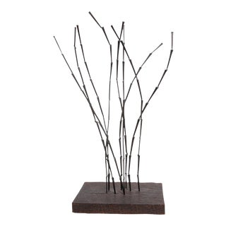 1960's Sculpture of Welded Iron by Harry Balmer For Sale