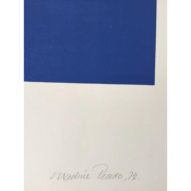 Nadine Pardo 1972 Abstract Silkscreen For Sale - Image 4 of 9