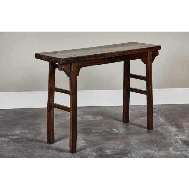18th Century Chinese Elm Altar Table For Sale - Image 11 of 11