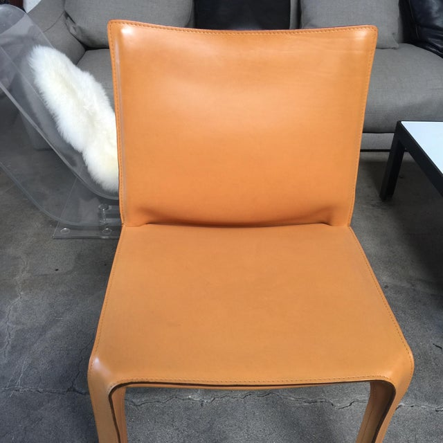 Cassina Cab Dining Chairs - Set of 4 - Image 3 of 5