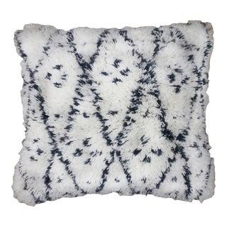 Moroccan Handwoven Wool Pillow