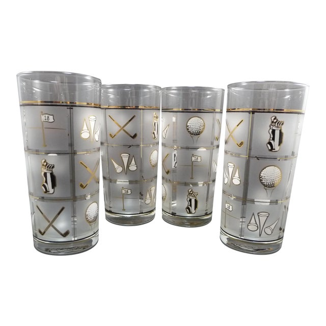 Culver Vintage Glasses - Set of 4 - Image 1 of 8