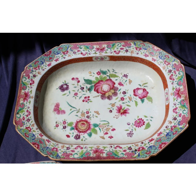Early 19th Century 19th C. Chinese Export Tureen For Sale - Image 5 of 8