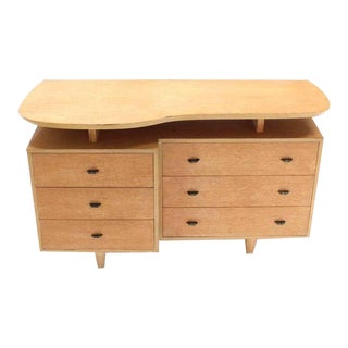 Unusual Mid-Century Modern Floating Top Dresser For Sale
