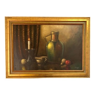 Traditional Still Life Painting For Sale