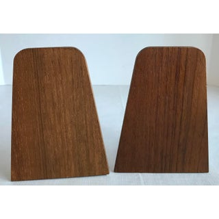 20th Century Danish Modern Teak Bookends - a Pair Preview