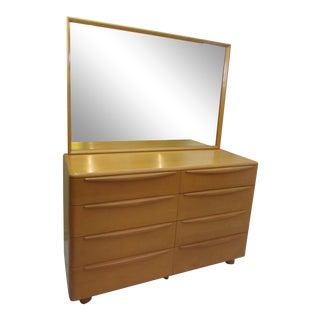 Heywood Wakefield Dresser with Mirror