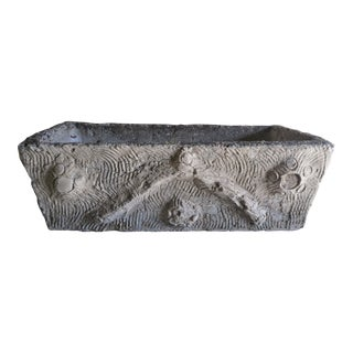 Rectangular Shaped Cement Planter