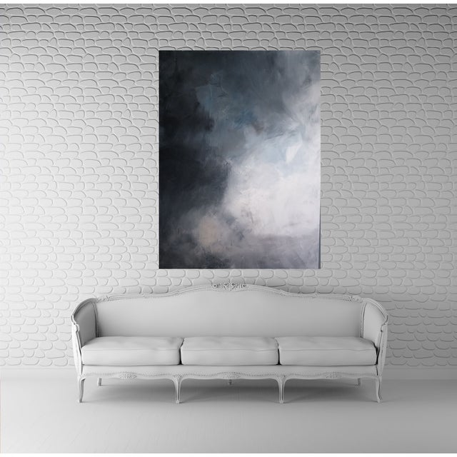 """""""Storm Clouds"""" Abstract Art by Kris Gould - Image 2 of 5"""
