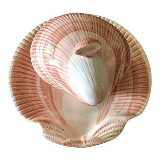 1980s Vintage Fitz & Floyd Coquille Shell Luncheon Set for 10 - 20 Pieces For Sale