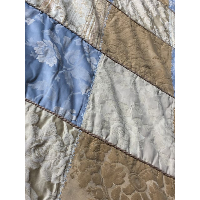 Fabric Sherry Koppel Designs Handmade King Size Quilt or Wall Hanging For Sale - Image 7 of 12