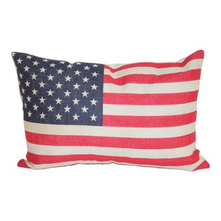 50 Star Flag Pillow For Sale