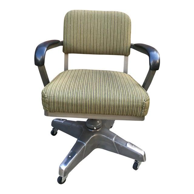 Industrial Vintage Office Desk Chair - Image 1 of 6