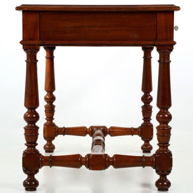 English Mahogany Writing Desk - Image 5 of 11