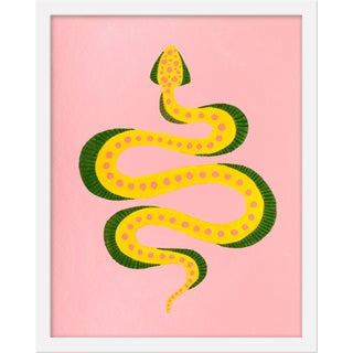 "Small ""Dumpling the Snake"" Print by Willa Heart, 16"" X 20"" For Sale"