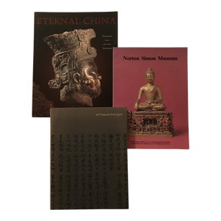 Asian Art Museum Books - Set of 3 For Sale