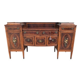 Early 1900's Adams Style Sideboard For Sale