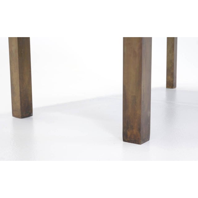 Bronze Coffee Table by Philip and Kelvin LaVerne For Sale - Image 10 of 10