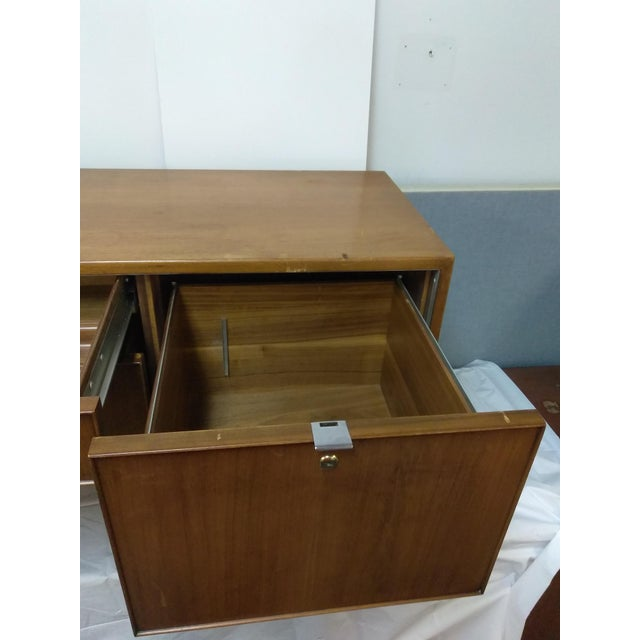 Knoll Mid-Century Modern Wood Credenza - Image 6 of 9