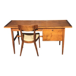 Drexel Declaration Mid-Century Modern Desk & Chair