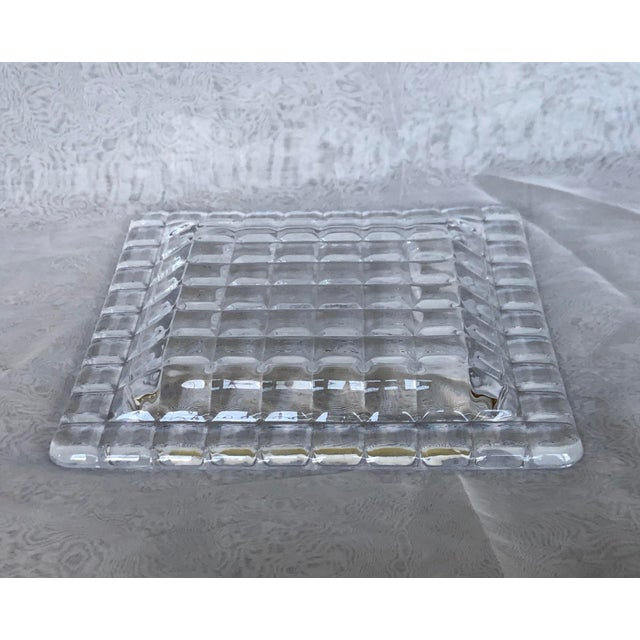 Use this mid-century modern art glass tray as a catchall on a living room coffee table, hallway console, or bedroom...