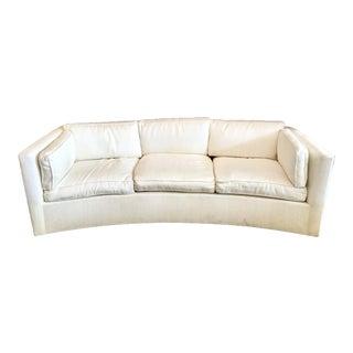 Milo Baughman Curved Sofa For Sale