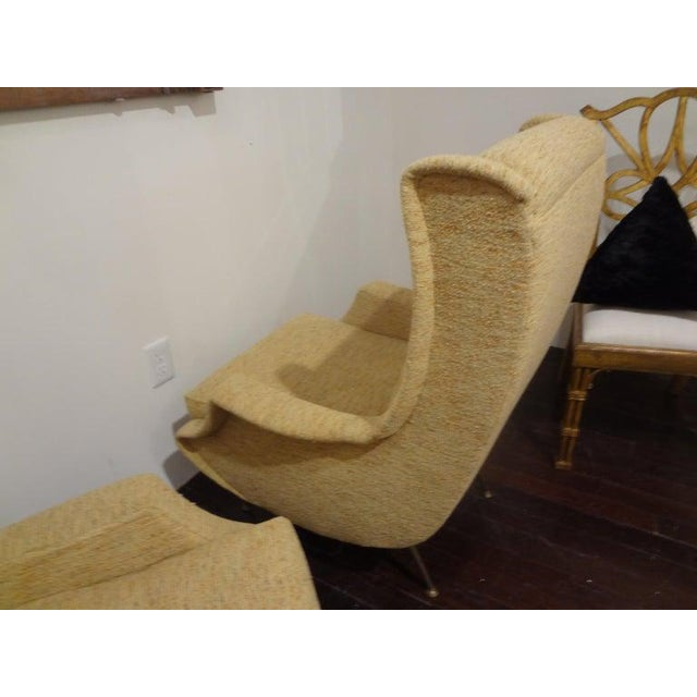 Green 1960s Vintage Minotti Style Italian Modern Lounge Chairs- A Pair For Sale - Image 8 of 10