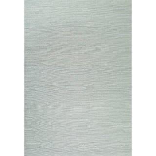 Sample - Schumacher Haruki Sisal Wallpaper in Seaglass For Sale